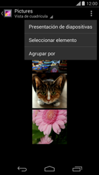 Transferir fotos vía Bluetooth - Motorola Moto G - Passo 6