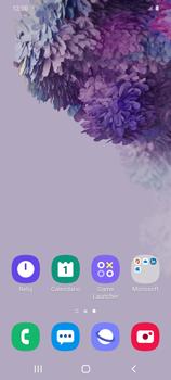 Tomar una captura de pantalla - Samsung Galaxy S20 - Passo 2