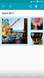 Transferir fotos vía Bluetooth - Sony Xperia XZ Premium - Passo 11