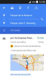 Uso de la navegación GPS - Samsung Galaxy Core Prime - G360 - Passo 17