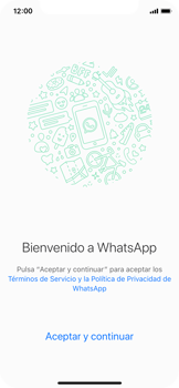 Configuración de Whatsapp - Apple iPhone XS - Passo 6