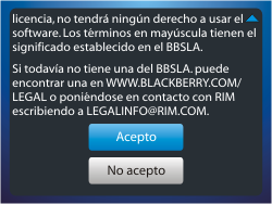Activa el equipo - BlackBerry Curve 9320 - Passo 11