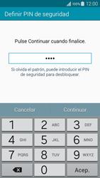 Desbloqueo del equipo por medio del patrón - Samsung Galaxy A3 - A300M - Passo 12
