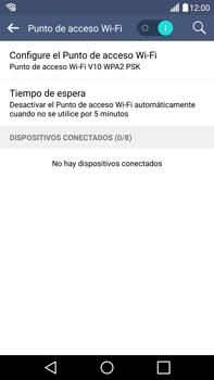 Configura el hotspot móvil - LG V10 - Passo 11