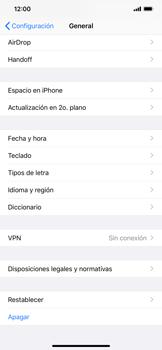 Restaura la configuración de fábrica - Apple iPhone 11 - Passo 4