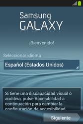 Activa el equipo - Samsung Galaxy Fame GT - S6810 - Passo 3
