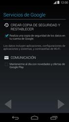 Crea una cuenta - Motorola Moto E (1st Gen) (Kitkat) - Passo 12