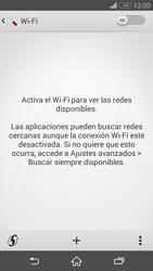 Configura el WiFi - Sony Xperia Z3 D6603 - Passo 5