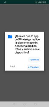 Configuración de Whatsapp - Huawei Mate 20 Lite - Passo 9