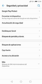 Desbloqueo del equipo por medio del patrón - Huawei Y6 2018 - Passo 4