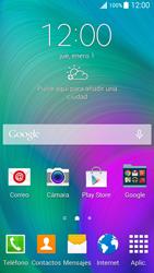Realiza una copia de seguridad de la memoria - Samsung Galaxy A5 - A500M - Passo 1