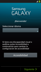 Activa el equipo - Samsung Galaxy S4  GT - I9500 - Passo 3