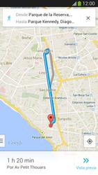 Uso de la navegación GPS - Samsung Galaxy Zoom S4 - C105 - Passo 13