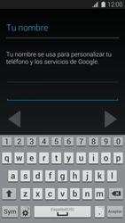 Crea una cuenta - Samsung Galaxy S5 - G900F - Passo 5