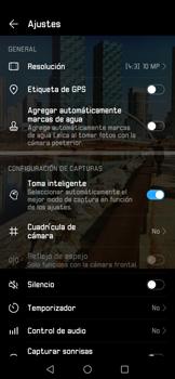 Opciones de la cámara - Huawei Mate 20 Pro - Passo 7