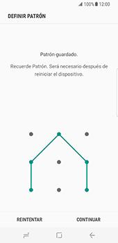 Desbloqueo del equipo por medio del patrón - Samsung Galaxy S8 - Passo 8