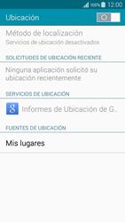 Uso de la navegación GPS - Samsung Galaxy A3 - A300M - Passo 19