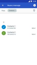 Envía fotos, videos y audio por mensaje de texto - Motorola Moto C - Passo 5