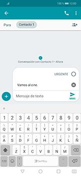 Envía fotos, videos y audio por mensaje de texto - Huawei Mate 20 Lite - Passo 8