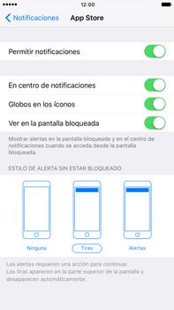 Personalizar notificaciones - Apple iPhone 7 Plus - Passo 4