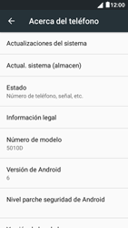 Actualiza el software del equipo - Alcatel Pixi 4 5 - OT5045 - Passo 6