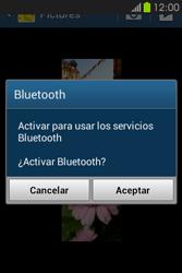 Transferir fotos vía Bluetooth - Samsung Galaxy Fame GT - S6810 - Passo 10