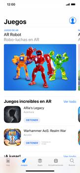 Instala las aplicaciones - Apple iPhone XS Max - Passo 5