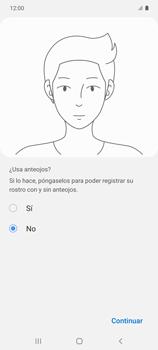 Cómo configurar el Face ID - Samsung Galaxy S10 Lite - Passo 12