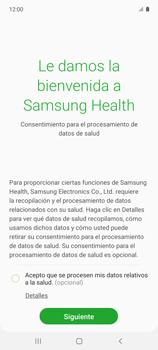 Cómo funciona el Samsung Health - Samsung Galaxy A51 - Passo 7