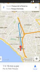 Uso de la navegación GPS - Samsung Galaxy S5 - G900F - Passo 15