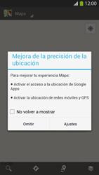 Uso de la navegación GPS - Samsung Galaxy S4  GT - I9500 - Passo 4