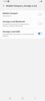Comparte la conexión de datos con una PC - Samsung Galaxy A80 - Passo 9
