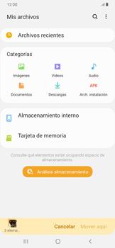 Transferir datos desde tu dispositivo a la tarjeta SD - Samsung Galaxy A30 - Passo 10