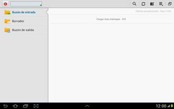 Configura tu correo electrónico - Samsung Galaxy Note 10-1 - N8000 - Passo 5
