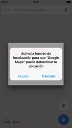 Uso de la navegación GPS - Apple iPhone 6s - Passo 6