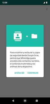 Configuración de Whatsapp - Motorola Moto G7 Plus - Passo 7