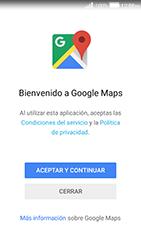 Uso de la navegación GPS - Huawei Y3 II - Passo 4