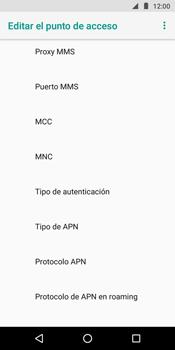 Configura el Internet - Motorola Moto G6 Play - Passo 15