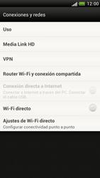 Configura el hotspot móvil - HTC One S - Passo 5