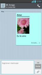 Envía fotos, videos y audio por mensaje de texto - LG Optimus G Pro Lite - Passo 19