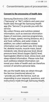 Samsung Health - Samsung A7 2018 - Passo 6