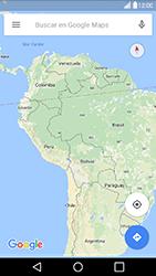 Uso de la navegación GPS - LG G5 - Passo 6