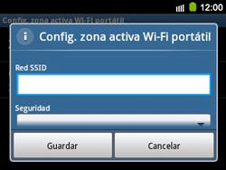 Configura el hotspot móvil - Samsung Galaxy Y Pro GT - B5510 - Passo 8
