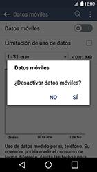 Desactiva tu conexión de datos - LG K4 - Passo 5