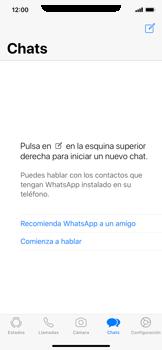 Usar WhatsApp - Apple iPhone XS Max - Passo 3