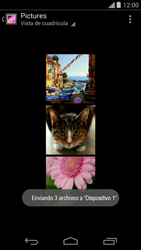 Transferir fotos vía Bluetooth - Motorola Moto G - Passo 12