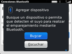 Conecta con otro dispositivo Bluetooth - BlackBerry Curve 9320 - Passo 10