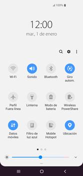 Cómo usar la función Power Share - Samsung S10+ - Passo 3