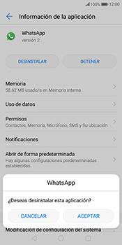 Desinstalar aplicaciones - Huawei Mate 10 Pro - Passo 6