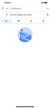 Uso de la navegación GPS - Apple iPhone 11 - Passo 13